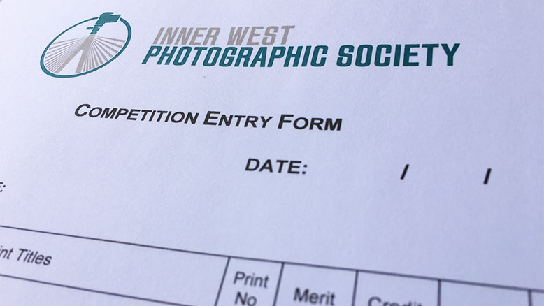 IWPS competition entry form
